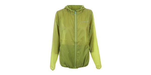 Dámská zelená bunda s kapucí Trimm