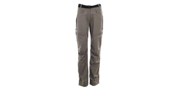 Dámské pískovo-černé outdoorové kalhoty Trimm