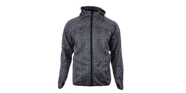 Pánská černo-šedá softshellová bunda Trimm