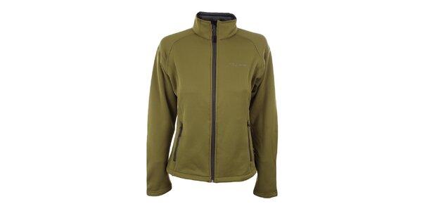 Dámská zelená softshellová bunda Trimm