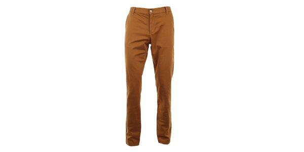 Pánské měděné slim chino kalhoty Monkee Genes