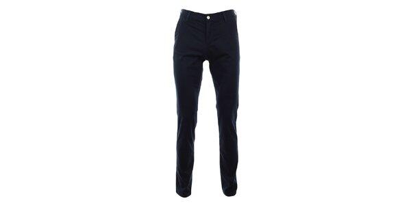 Pánské tmavě modré slim chino kalhoty Monkee Genes