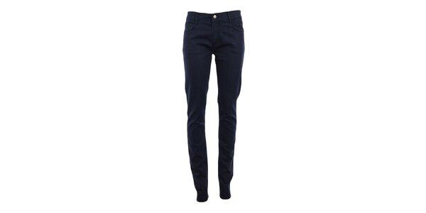 Dámské tmavě modré denimové skinny kalhoty Monkee Genes
