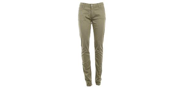 Dámské béžové skinny kalhoty Monkee Genes