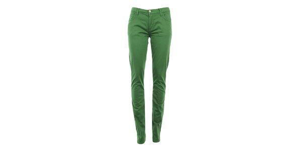 Dámské zelené skinny kalhoty Monkee Genes