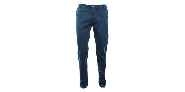Pánské modré skinny chino kalhoty Monkee Genes