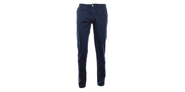 Pánské tmavě modré skinny chino kalhoty Monkee Genes