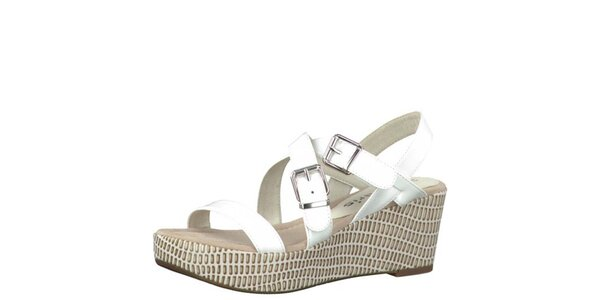 Dámské bílé sandály Tamaris