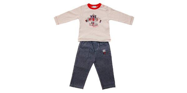Kojenecká souprava Lullaby - tričko a kalhoty
