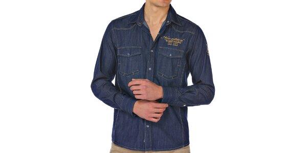 Pánská džínová košile M. Conte