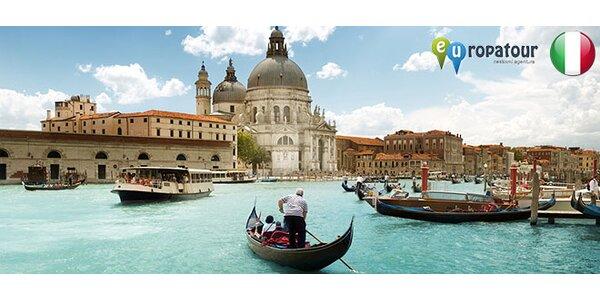 Třídenní zájezd do Benátek a na ostrov Murano.