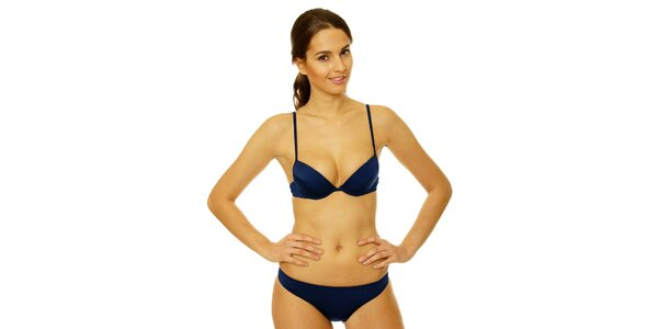 Dámské tmavě modré bikini Gianfranco Ferré
