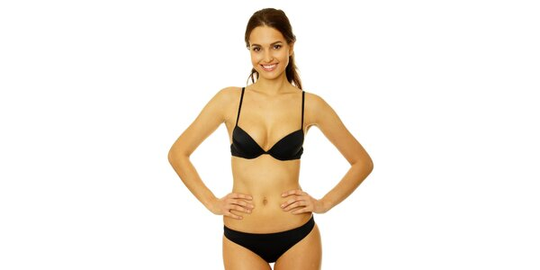 Dámské černé bikini Gianfranco Ferré