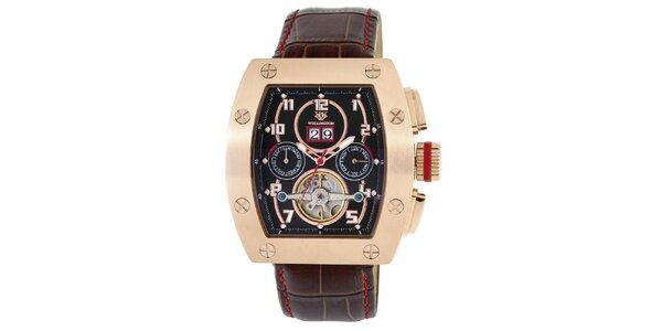 Pánské barevné hodinky s výrazným ciferníkem Wellington