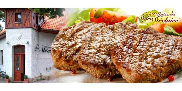 Mix grilovaného masa PRO DVA s přílohou