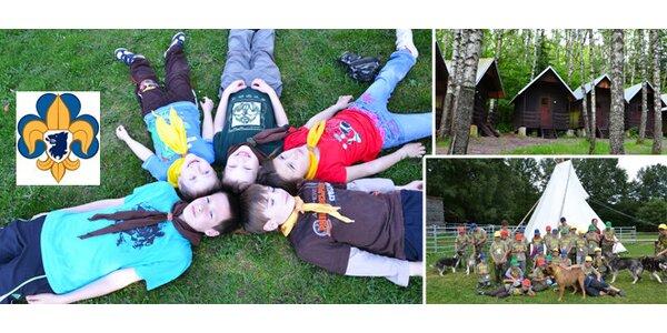 Pravý 14denní skautský tábor v Novohradských horách