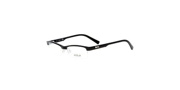 Dámské černé vázané brýle Replay