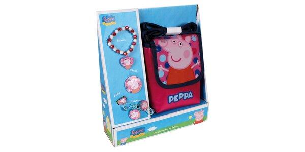 PeppaPig kabelka pro holky+doplňky
