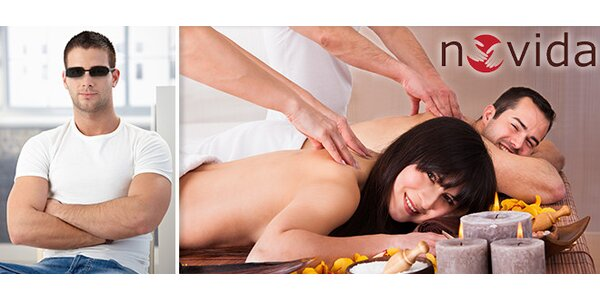Citlivá masáž od nevidomého maséra