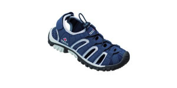 Tmavě modré outdoorové sandály Izas