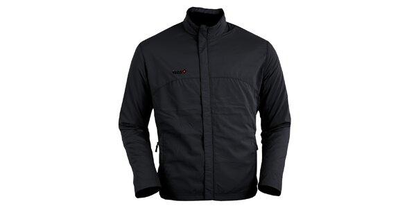 Černá běžecká bunda Izas
