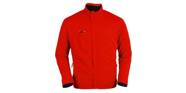 Červená běžecká bunda Izas
