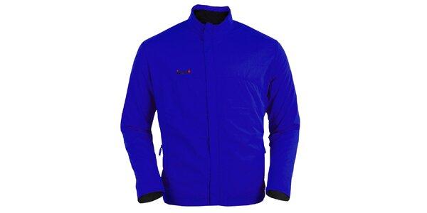 Sytě modrá běžecká bunda Izas