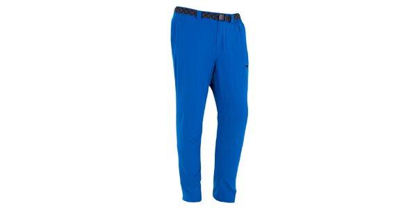 Pánské sytě modré outdoorové kalhoty Izas