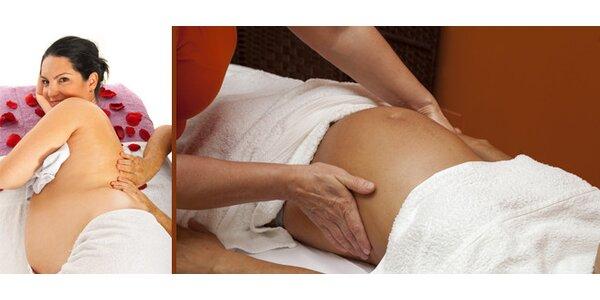 Těhotenská masáž v délce 30 minut