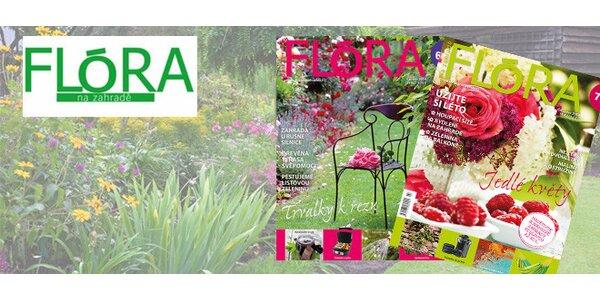 Roční předplatné časopisu Flóra na zahradě 2014 + elektronické předplatné…