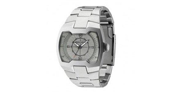Pánské ocelové analogové hodinky Police