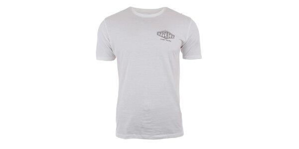 Pánské bavlněné tričko v krémově bílé barvě Big Star