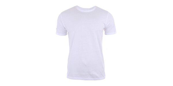 Pánské bílé triko s krátkým rukávem Big Star