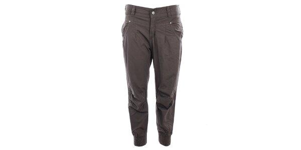 Dámské khaki plátěné kalhoty Big Star dbb83f7a52