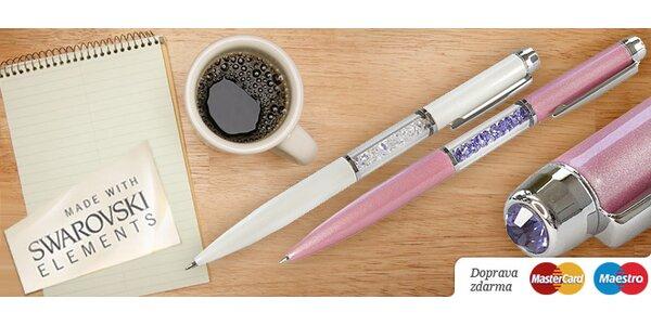 Kuličkové pero Swarovski