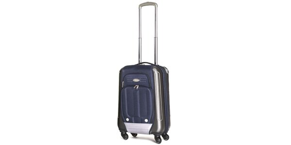 Malý modrý kufr s kolečky Ravizzoni