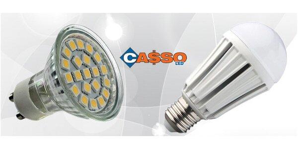 Úsporné LED žárovky. Bodové, klasické, keramika