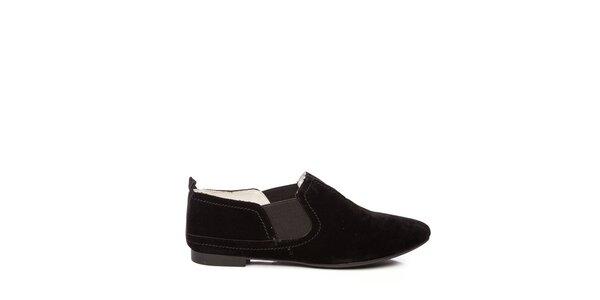 Dámské nízké černé boty Keddo