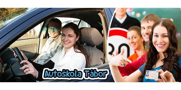Řidičské oprávnění sk. B v Táboře a okolí