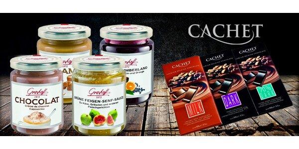 Delikatesy z kvalitní belgické a německé čokolády