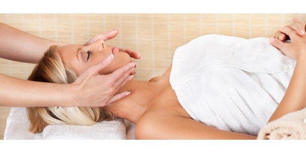 Kosmetické ošetření dekoltu a krku nebo obličeje