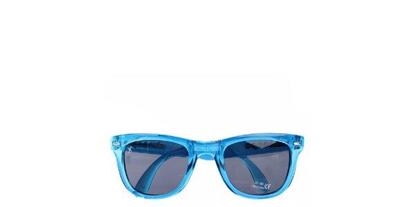 Tyrkysové transparentní sluneční brýle Wize & Ope