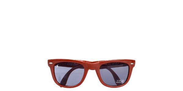 Červené sluneční brýle Wize & Ope