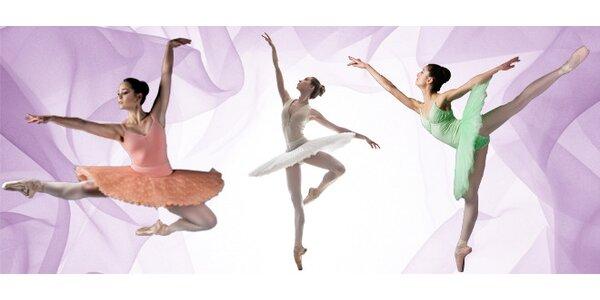 Týden plný baletu a fitbaletu pro dospělé a ukázku jazz dance