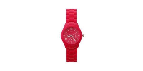 Dámské růžové hodinky Guess