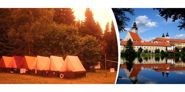 7 nebo 14 dní zážitků na letním táboře u Telče s tématem Byl jednou jeden život