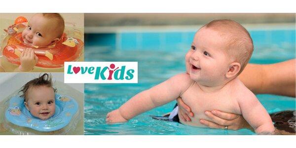Kruh kolem krku BABY SWIMMER pro koupání novorozenců a dětí do 3 let
