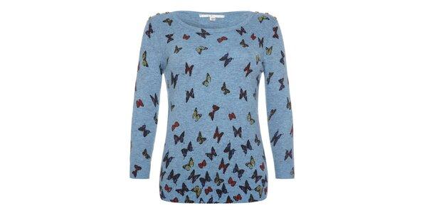 Dámský svetřík s motýlky Uttam Boutique