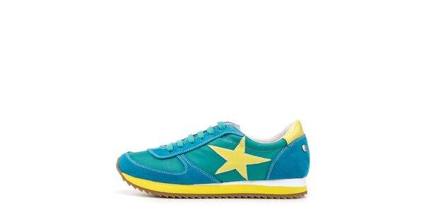 Dámské pestrobarevné tenisky s hvězdou Blink