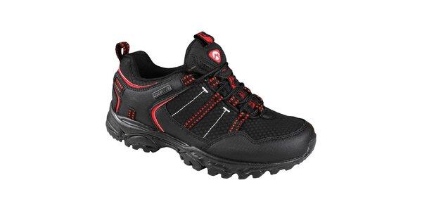 EVERETT Effai - dámská treková obuv, černo-červená